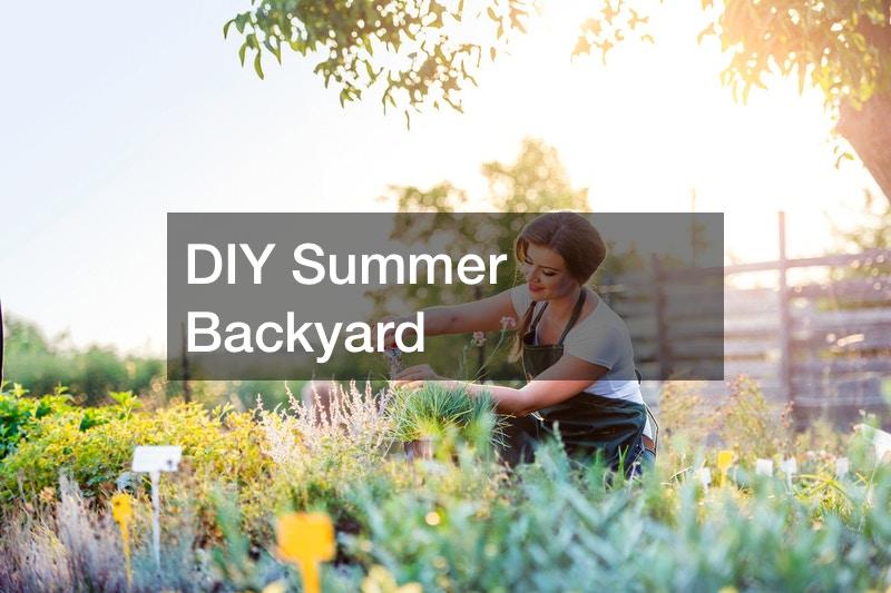 DIY summer backyard projects